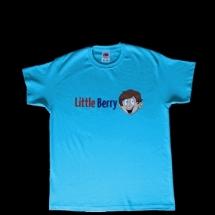 LittleBerry - Tričko-slabo-modre